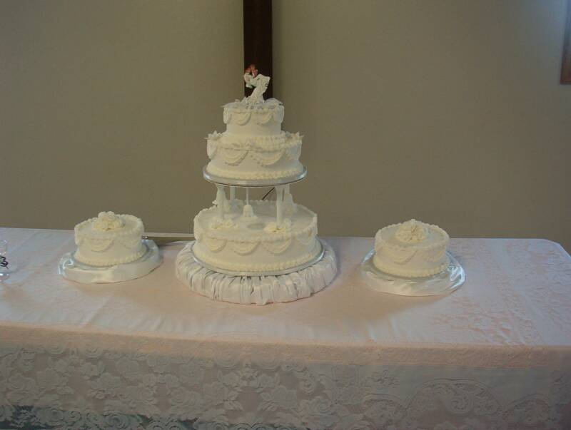 Wedding Cake with puff base