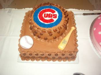 grooms cake sports