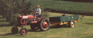Tractor at Strawberry Lane Farm